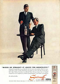 Joseph Cotten for Smirnoff Vodka (1958)