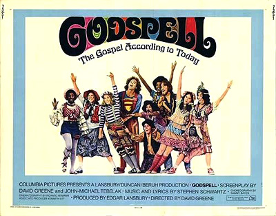 Godspell movie poster