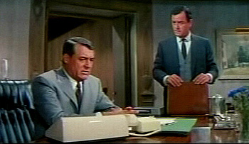 "Cary Grant and Gig in ""That Touch of Mink"" (1962)"